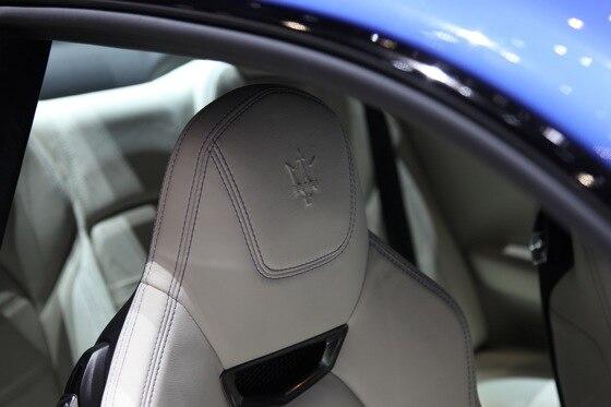 2013 Maserati GranTurismo Sport: Geneva Auto Show