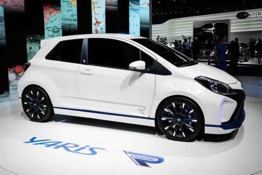 Toyota Yaris Hybrid-R Concept: Frankfurt Auto Show