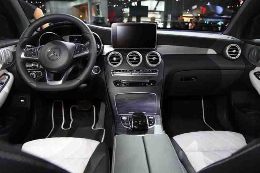 2017 Mercedes-Benz GLC-Class Coupe: New York Auto Show