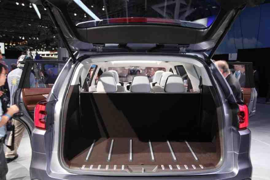 Subaru Ascent Concept: New York Auto Show