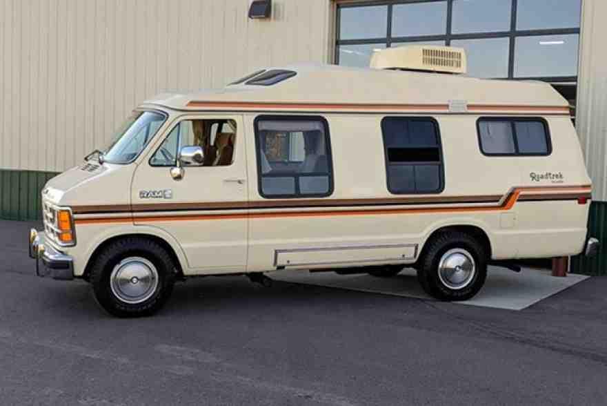 Autotrader Find: Shockingly Nice 1987 Dodge Camper Van