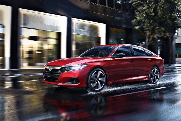 2021 Honda Accord Sport 2.0T in Red